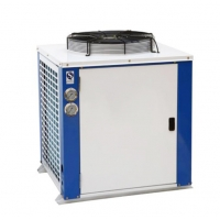 China Hermetic Scroll  Type R134a Recirculating Water Cooled Screw Liquid Chiller wholesale
