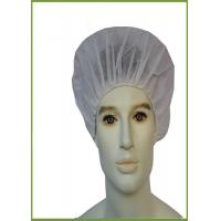 China Lightweight Disposable Head Cap , Round Disposable Bouffant Caps For Operating Room on sale