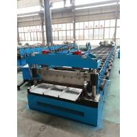China Metal steel roof Kliplock roll forming machine for manufacture wholesale
