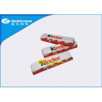 China Aluminum Chocolate Foil Wrappers , Candy Bar Foil Wrappers / Squares For Wrapping Chocolates wholesale