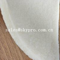 China Anti-slip white natural rubber sheet crepe sheet for shoe sole wholesale