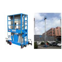 China Hydraulic Aluminum Work Platform For Outdoor Window Cleaning 12 Meter Working Height on sale