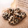 China Fluffy Ladies Winter House Slippers Cozy Boa Slides Girls Plush Cozy House Shoes wholesale