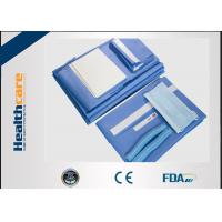 China SMS Disposable Surgical Packs Blue Caesarean Section Set With EO And ISO/CE wholesale