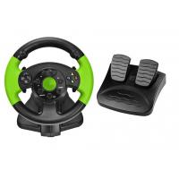 China PC / X-INPUT / PS3 / XBOX 360 All in One VIdeo Game Steering Wheel with Foot Pedal wholesale