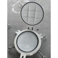 China Fixed Model Portlights Marine Windows Marine Ships Scuttle Window With Storm Cover wholesale