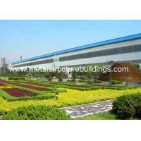 China Economic ASTM Metal Structure Buildings , Fabricated Workshop Steel Structure wholesale