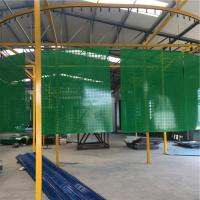 Buy cheap Powder Coated Galvanized Metal Green Builders Netting 1500MM X 1800MM from wholesalers