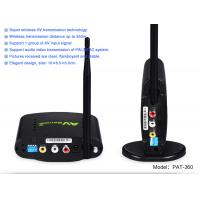 PAT-360 2.4g Analog Signal video sender receiver with 350 merters Transmit Distance2.4GHz 433.92mhz wireless transmissio
