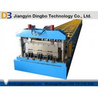 Buy cheap Punching Metal Cr12 Floor Deck Roll Forming Machine With Mitsubishi PLC from wholesalers
