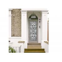 China Agon Filled 22*64 Inch Size Frosted Door Glass Panels Durable Interior Decoration on sale