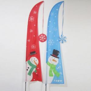 China Christmas Garden Flag snowman wholesale