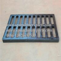 """China Class E600 duracoated extra heavy-duty 12"""" x 24"""" [305mm x 610mm] cast iron grate in frame from china wholesale"""