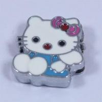 China Cute D IY Slide Charms Hello Kitty SC0002H wholesale