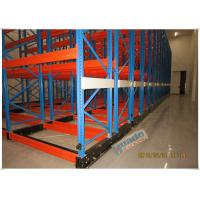 China Rail Guided Mobile Storage Racks Warehouse Racking Shelves For Optimizing Space on sale
