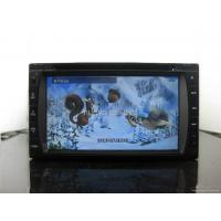 China new 3D menu double din car dvd built in GPS(CE6.0) RDS bluetooth radio wholesale