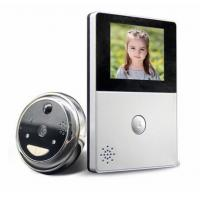 China 2.8 Inch LCD Monitor Peephole Wireless Video Doorbell With RTOS Operating Systems wholesale