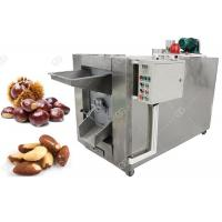 China Small Batch Nuts Roasting Machine 100 - 150 KG/H Stainless Steel Material wholesale