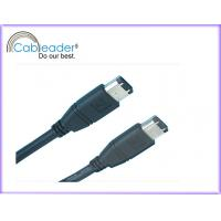 China IEEE 1394 Firewire cables Fire Wire 6 pin Male to 6 pin Male on sale