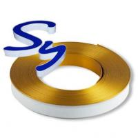 China Acrylic Channel Letters Aluminium Trim Cap With PC And Foam Strip wholesale
