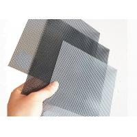 China 1200x2000MM Stainless Steel Wire Mesh With Black Color For Window Mesh Screen wholesale