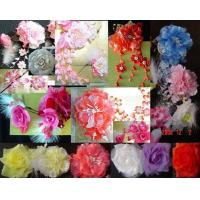 China bride flower handcraft flower Crocheted Fabrics flowere beaded flower Knit craft gift wholesale