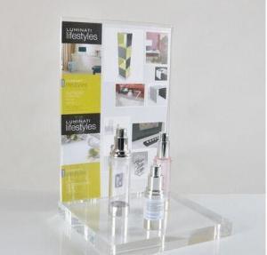 China Выставочная витрина ПОС розничного счетчика ОЭМ ясная акриловая для косметики wholesale