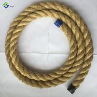 China Factory Wholesale 1 inch twisted sisal rope 200m/roll hot sale on sale