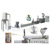 China Plastic Extrusion Screen Changer For Recycling Granulator Machine / Granule / Pallet Making Extruder Machine on sale