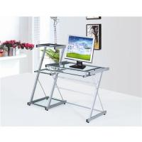 China Modern glass computer desk on sale