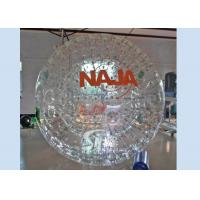 China Giant cheap inflatable grass ball person inside with certificated PVC or TPU material on sale