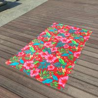China Vera Bradley Style Blanket Throw Havana Just Married HoneyMoon Beach Towels wholesale