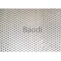 China Architecture / Building Perforated Steel Sheet  With Low Carbon Iron Raw Material wholesale