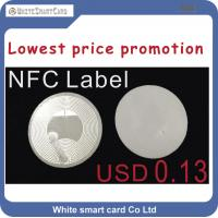 NTAG213 NFC  tag, High quality NFC Label sticker,wholesale nfc RFID label and RFID tag