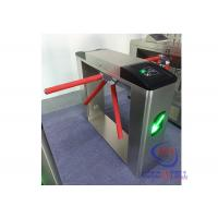China 110 volts full automatic Hs code tripod turnstile barcode scanner for stadium wholesale