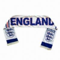 China World Cup Football/Soccer Fan Printed Scarf wholesale