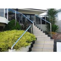 China Building Stainless Steel Balustrade , Stainless Steel Fence With Aluminum Alloy Materials wholesale