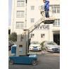China plates-formes de travail élevées par 7.5m, type ascenseur de mât de boom monté par remorque de 3m wholesale