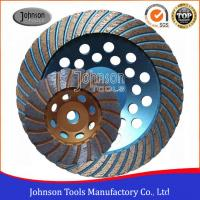 China Turbo Type 125mm Grinding Wheel , Surface Grinding Wheels For Hard Granite wholesale