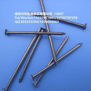 China 2018 China cheap wholesale wooden iron nail common nails on sale