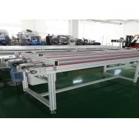 China Automatic Flat Timing Belt Conveyor System For Automobile Electronic Assembly Line on sale