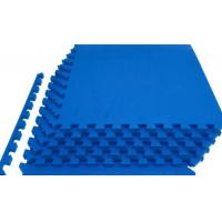 China Shock Absorbing Foam Workout Mat Comfortable Odorless Non Toxic Material wholesale