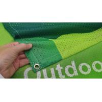 China Fabric Outdoor Mesh Banners Sign Wrap For Fence wholesale