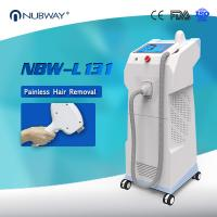 Buy cheap 2018 best cooling system for fastest hair removal / 808nm diode laser hair removal machine from wholesalers