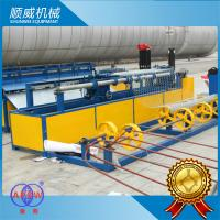 China Weaving Breadth 0.5m - 4.2m Chain Link Wire Machine For Highway / Railway Fencing wholesale
