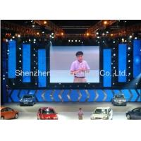 Stage background P3 Indoor LED Video Walls , Full Color trade show stage display