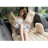 China Customized Color Inflatable Car Bed PVC Coating 2 . 6 -  2 . 7KG Packing Weight wholesale