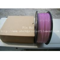 China High Quality 3D Printer Filament PLA 1.75mm 3mm For White To Purple  Light change  filament wholesale