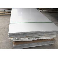 China Various Finish Cold Rolled Stainless Steel Plate Thickness 0.1mm - 6mm Size 4 X 8 wholesale
