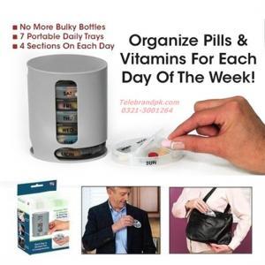 China 7 - Day Medicine Pill Box Organizer on sale